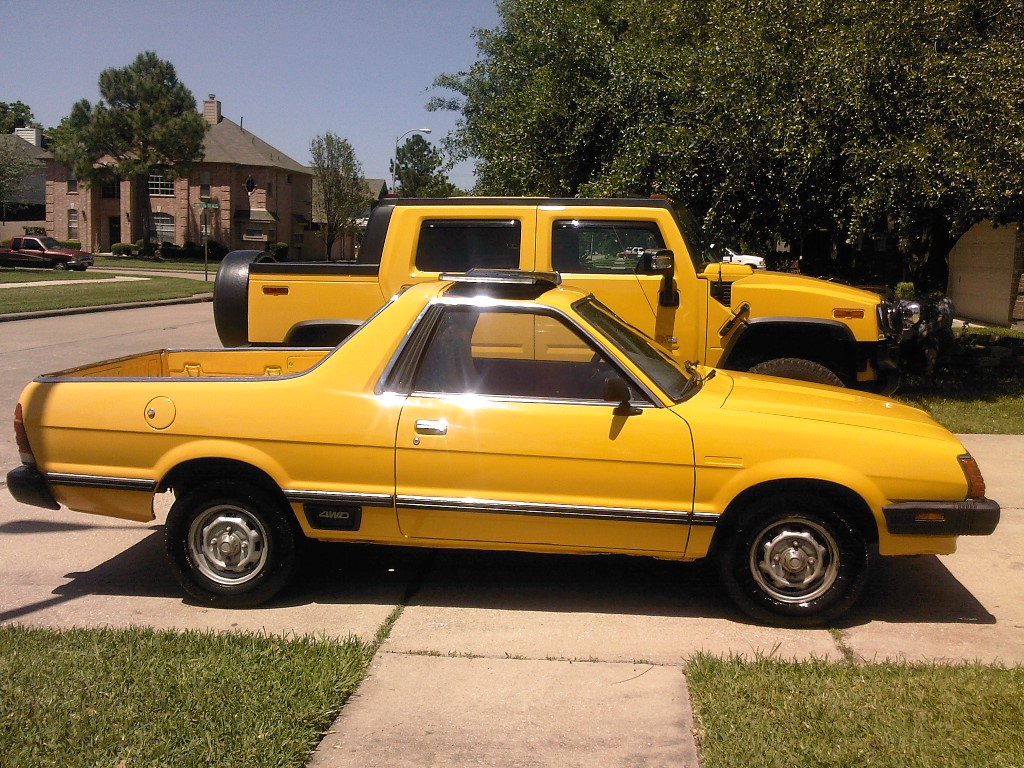 Another 1982 Subaru Brat For Sale