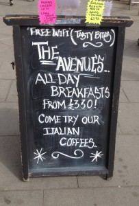 The Avenues CAfe